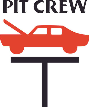 thanking: You entrust your car to your mechanic.  This design is perfect for thanking them! They will love it! Illustration