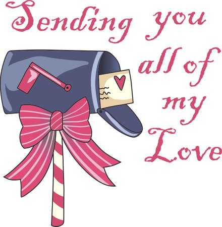 This cute mailbox is a perfect design for Christmas.  Get these designs from Great Notions.