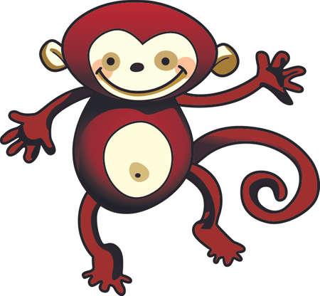 chimpances: El mono ve, mono hace, recordando esta canción infantil trae recuerdos de la vida sin preocupaciones como un niño. Dale esto a un niño y hacer que los recuerdos más divertidos. Se les va a encantar!