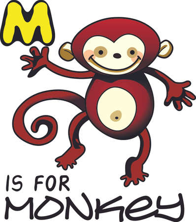 Monkey see, monkey do, remembering this nursery rhyme brings back memories of the carefree life as a child.  Give this to a child and make more fun memories.  They will love it!