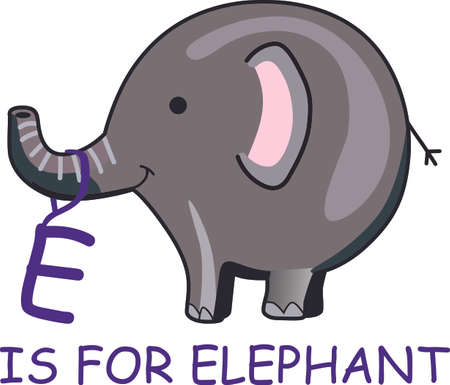 Send this happy elephant to a child.  They will love it!