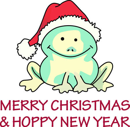 Send some Christmas cheer  with this cute frog.  Merry Christmas to all!  These make a perfect for adding to your festivities.  They will love it.