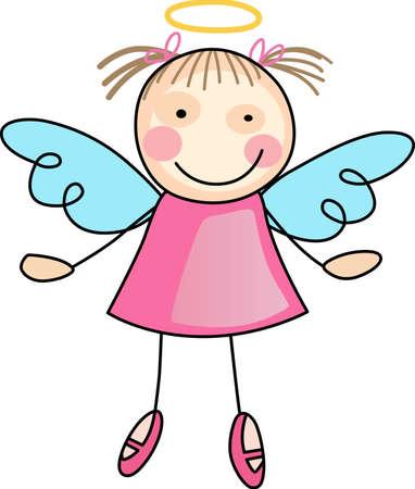 Chaque fois une cloche sonne et Angel obtient leurs ailes. Une belle conception de Great notions. Banque d'images - 44985786