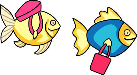 These  little fish go swimming by.  Send your little one to dreamland with these cute fish.  Perfect for the nursery!