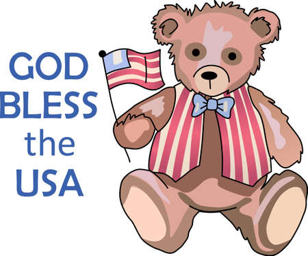 Celebrate our freedom God Bless America!  Perfect on items for family and friends to celebrate this 4th of July.  They will love it.