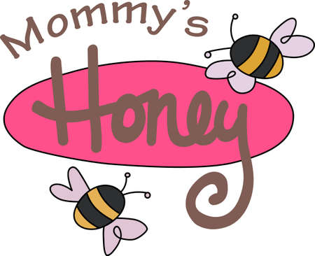yellow jacket: Some fresh honey is a perfect springtime treat with beautiful bees.  A beautiful design by Great Notions!