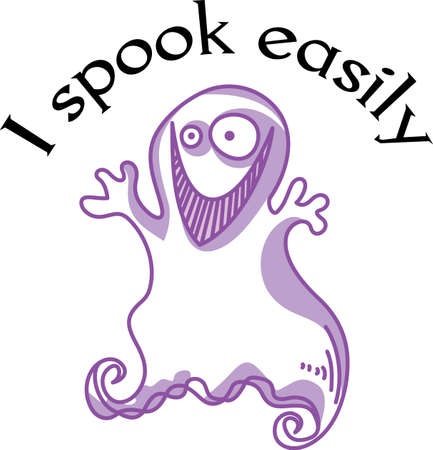 ghouls: Ghosts are the perfect addition for Halloween.  Use this adorable ghost to say Happy Booday!