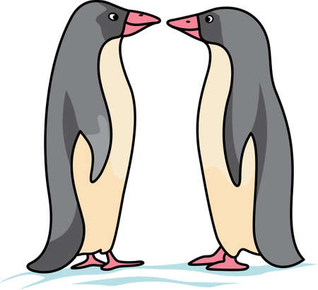 This adorable little penguin is perfect for your decorating.   The students will love it! Illustration