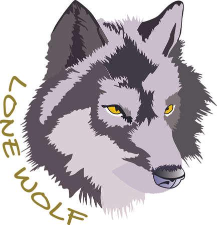 Greatnotions가 디자인 한이 늑대 헤드로 가정에 원시적 인 감각을 더하십시오.