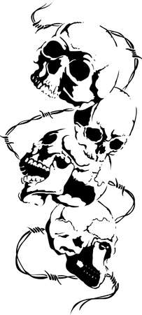 This skull is perfect for Halloween.  Add to your shirt for when you go trick or treating.  Get these designs from Great Notions.