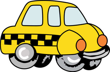 The worlds best taxi driver is a cute design from Great Notions.  They will love it.