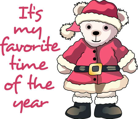 Send some Christmas cheer  with this bear.   This make a perfect for adding to your festivities.  They will love it!