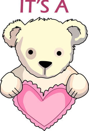 Send some Valentine cheer  with this bear.   This make a perfect for adding to your festivities.  They will love it!