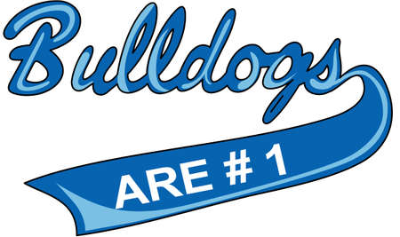 love is it: Show your team spirit with this Bulldogs logo.  Everyone will love it!
