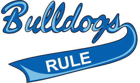 team spirit: Show your team spirit with this Bulldogs logo.  Everyone will love it!