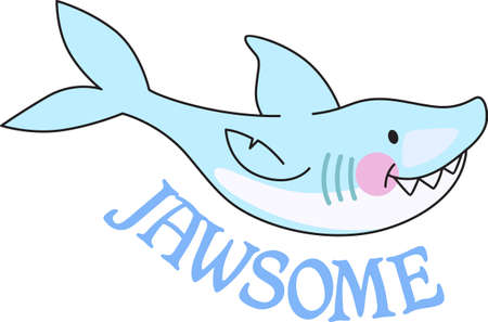 hunters: Boys like to read and learn about sharks in the deep blue sea.  Get these designs for his room from Great Notions.