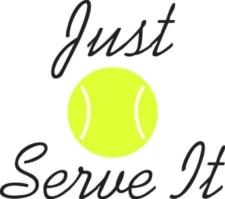 테니스 게임을 좋아하는 특별한 테니스 선수를 생각 나게하십시오. 테니스를 함께하는 것을 좋아하는 커플에게 딱!