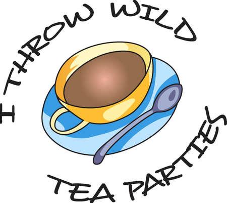 リラックスした午後、紅茶の好きなカップに最適。 偉大な概念からこれらのデザインを取得します。