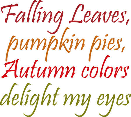 poems: This is a perfect design for your home during the fall.  Make your guests feel welcome.  They will love it!