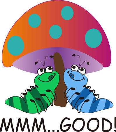 This is a cute caterpillar is perfect for your springtime design.  Another cute image from Great Notions!
