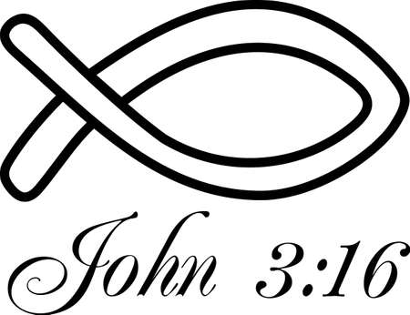 The fish as a symbol in Christianity is nearly as old as the Christian faith itself. A perfect design by Great Notions.