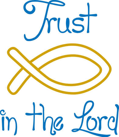 good shepherd: The fish as a symbol in Christianity is nearly as old as the Christian faith itself. A perfect design by Great Notions.