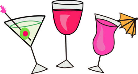 Champagne, wine or tini for your next celebration!  Wear this for your planning party.  Show you are ready to toast!