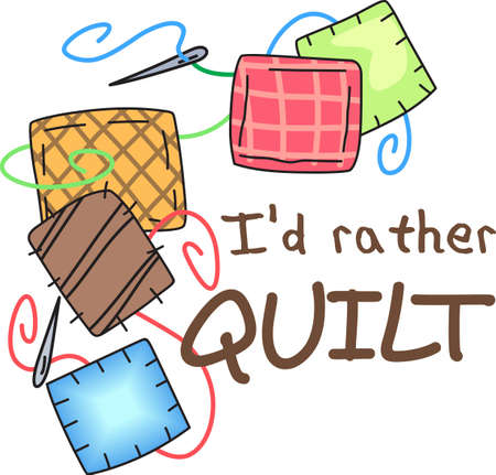 Quilting is such a special talent that requires time patience.  Give this quilting bug design to them.  They will love it!