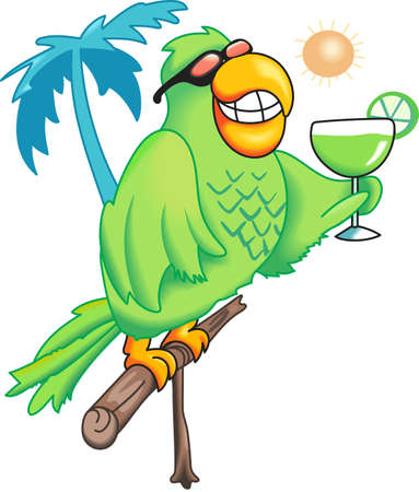 birds of paradise: Its five oclock somewhere!  Grab a margarita and take a break.  Get these designs from Great Notions.