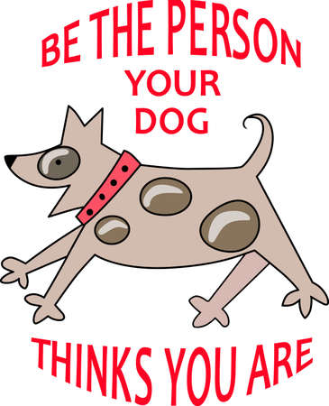 Beware of the attack dog to warn others to stay out of your yard or a funny gift for a small dog owner.  They will love it!