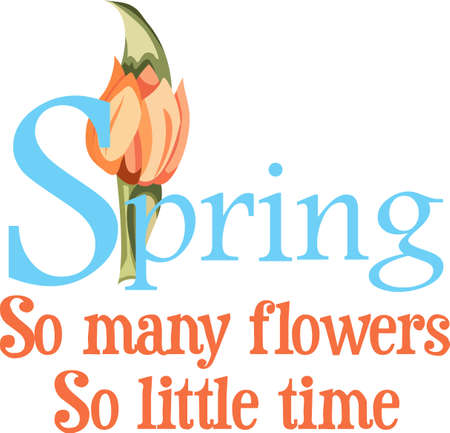 This is a cute flower is perfect for your springtime design.  Another cute image from Great Notions!