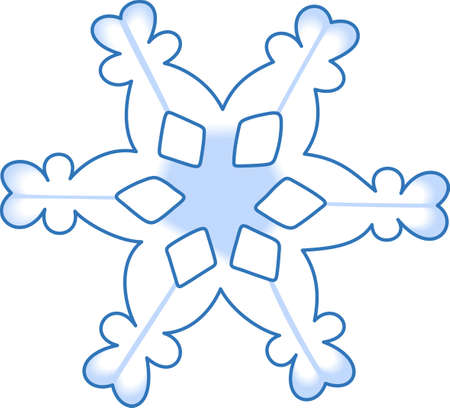 wintertime: This beautiful snowflake is a perfect design for this winter.  Pick those designs from Great Notions.