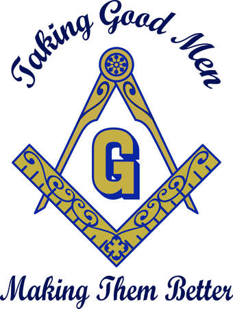 mason: The symbol represents freemasonry.  It stands for faith, hope and charity.  Add this design to a gift to a Master Mason.  Get these designs from Great Notions.