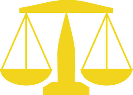 judicial: The scale is a symbol for truth, equality and justice.  Give this design to a judge or lawyer.  They will appreciate this design from Great Notions.