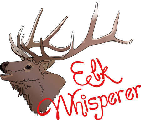 wapiti: Life is simple, go hunting!  Get matching items for everyone in your group, they will love it!