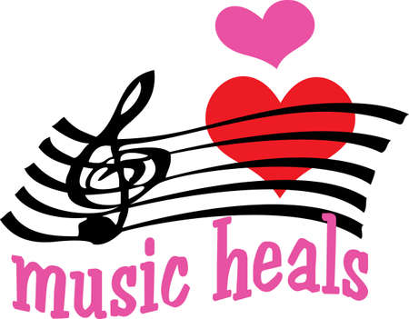 Nothing but treble for the music lover you know, pick those designs by Great Notions!