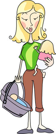 picking up: Moms are constantly picking up kids to take them to friends houses and activities.