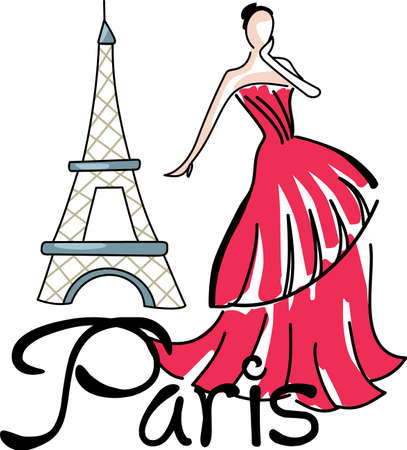 Life is good when you are on vacation in Paris.  Include this when packing for your summer trip.  Everyone will love it!