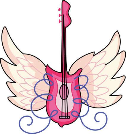 Let your music take flight.   Çizim