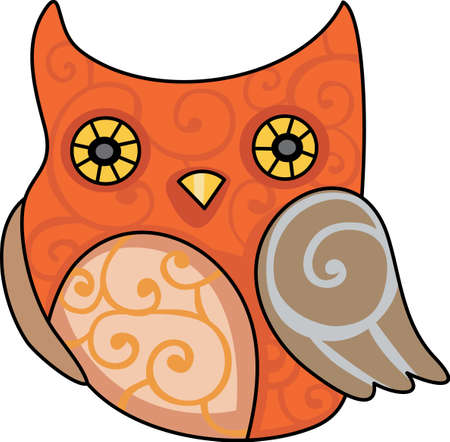 nocturnal animal: This cute image sends a happy Halloween!  Give a treat this Halloween as a cute party favor.  Everyone will love it!