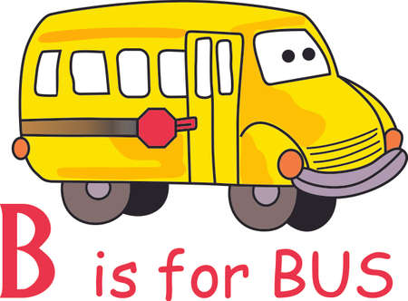 day care: You entrust your childs safety to their bus driver each day.  This design is perfect for thanking them! They will love it! Perfect for a school bus or day care driver for kids. Vettoriali