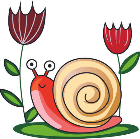 Send your little one to dreamland with this cute snail.  Perfect for the nursery!