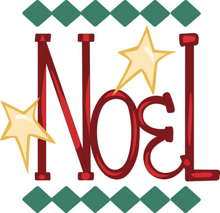 Send some Christmas cheer  with this Noel.   Çizim