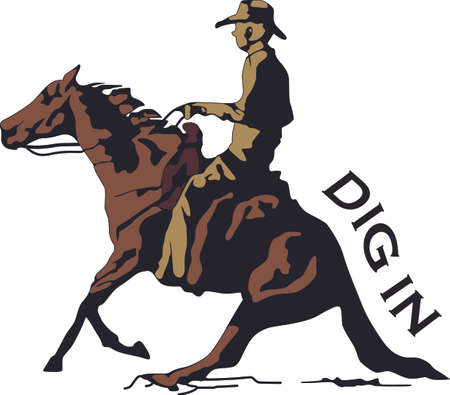 wind blowing: This graceful horse with the wind blowing its mane will be beautiful on a shirt, vest or jacket.