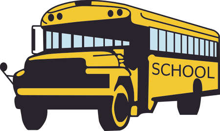 child safety: You entrust your child safety to their bus driver each day.  Illustration