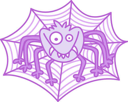 eight legged: This cute Halloween spooky spider is a perfect treat.  Give it to a child for their Halloween gift.  They will love it.