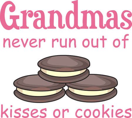 The oven is on overload.  Dont forget the cookies!  Perfect to keep in your kitchen!