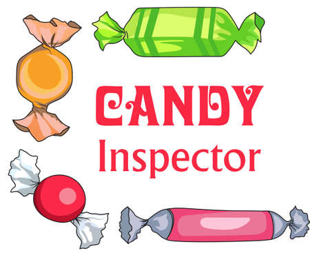 inspector: Everyone loves candy for Christmas!  Perfect idea for favors. Illustration