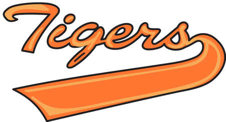 Time to cheer for the team with this Tigers mascot design.  A perfect design for all the fans from Great Notions. Çizim