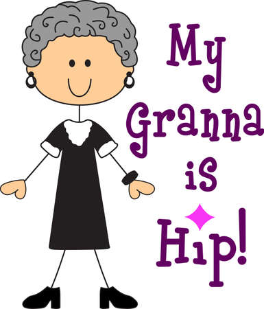 finally: Finally a grandmother! Proud of learning she will be grandma, use this design to tell them the good news. Bring some sweet inspiration  with this design.